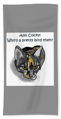 Who's A Pretty Bird Then? Hand Towel