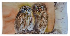 Who's Who Hand Towel by Beverley Harper Tinsley