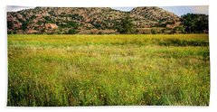 Hand Towel featuring the photograph Wichita Mountain Wildflowers by Tamyra Ayles