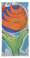 Wicket Fireball Bath Towel
