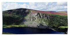 Wicklow Mountains In Ireland Bath Towel