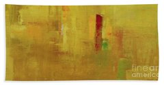 Wide Abstract D Bath Towel