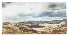 Wide Open Country Australia Hand Towel