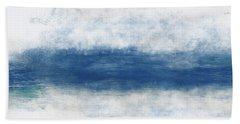 Wide Open Ocean- Art By Linda Woods Bath Towel