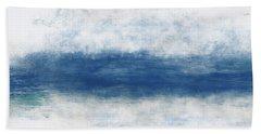 Wide Open Ocean- Art By Linda Woods Hand Towel