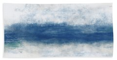 Wide Open Ocean- Art By Linda Woods Bath Towel