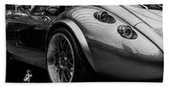 Wiesmann Mf4 Sports Car Hand Towel by ISAW Gallery