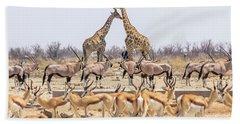 Wild Animals Pyramid Bath Towel