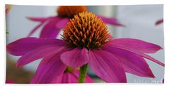 Wild Berry Coneflower Hand Towel