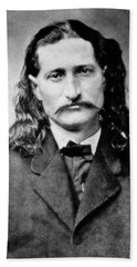 Wild Bill Hickok - American Gunfighter Legend Hand Towel