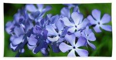 Wild Blue Phlox Dspf0391 Hand Towel by Gerry Gantt