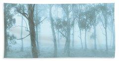 Wild Blue Woodland Bath Towel