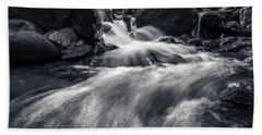 wild creek in Harz, Germany Bath Towel