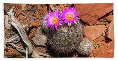 Wild Eyed Cactus Hand Towel