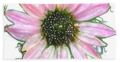 Hand Towel featuring the photograph Wild Flower Four by Heidi Smith