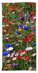 Wild Flower Meadow 2 Bath Towel