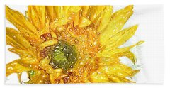 Hand Towel featuring the photograph  Wild Flower Two  by Heidi Smith