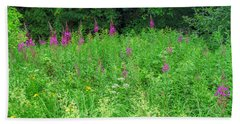 Wild Flowers And Shrubs In Vogelsberg Hand Towel