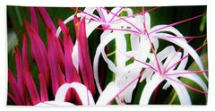 Bath Towel featuring the photograph Wild Flowers In Hawaii by D Davila
