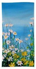 Wild Flowers Hand Towel