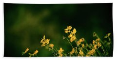 Evening Wild Flowers Bath Towel by Kelly Wade