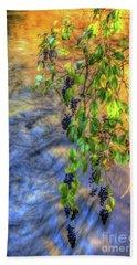 Wild Grapes Bath Towel