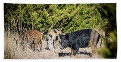 Wild Hogs Bath Towel