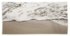 Wild Honey - Beach Photography Hand Towel by Melanie Alexandra Price