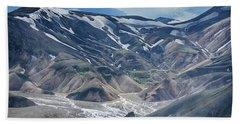 wild Iceland 3 Hand Towel