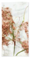 Bath Towel featuring the photograph Wild Indian Rice In Autumn by Louise Kumpf