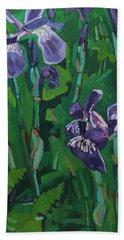 Wild Iris Hand Towel