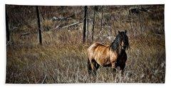 Wild Mustang Hand Towel