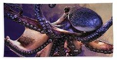 Wild Octopus Hand Towel