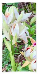 Wild Orchids In Pastel 2 Hand Towel