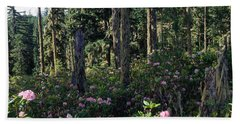Wild Rhododendrons Mount Hood National Hand Towel