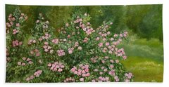 Wild Roses Hand Towel