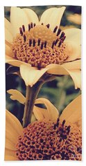 Wild Sunflowers Hand Towel