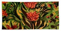 Wild Tulips Hand Towel
