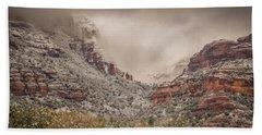 Boynton Canyon Arizona Bath Towel by Racheal Christian