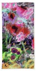 Wildest Flowers 2- Art By Linda Woods Hand Towel
