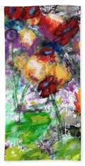 Wildest Flowers- Art By Linda Woods Hand Towel