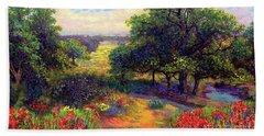 Wildflower Meadows Of Color And Joy Bath Towel