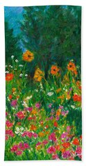 Wildflower Rush Bath Towel