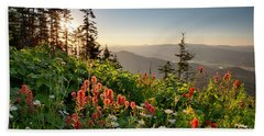 Wildflower View Hand Towel