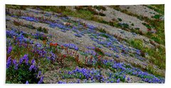 Wildflowers Bath Towel by Ansel Price