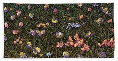 Wildflowers Hand Towel