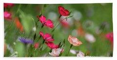 Wildflowers Meadow Hand Towel
