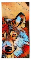 Wildlife Wolf 1 Hand Towel