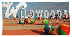 Wildwoods Hand Towel by James Kirkikis