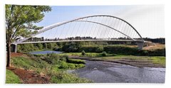 Willamette Pedestrian Bridge Bath Towel